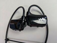 Sony Walkman Black 4GB Active Sports MP3 player NWZW273S w/ Cradle BCR-NWW270