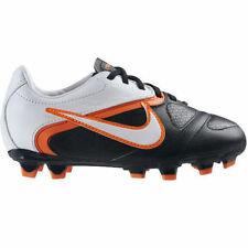 Nike Outdoor Soccer Cleats Jr. Libretto II  Black/White/Orange Youth Size 6