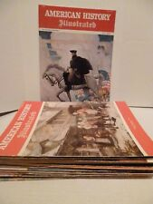 Vintage Lot of 14 American History Illustrated Magazines