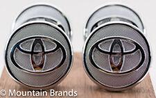 4pc Toyota Chrome Center Cap 42603-02220 Prius Corolla Yaris Matrix 57mm 2.25 in