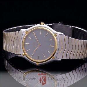 Ebel Sportwave Classique Armbanduhr Gold 18K / 750 Edelstahl Ref. 181903 Quarz