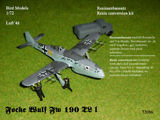 Focke Wulf Fw 190 TL I    1/72 Bird Models Resinumbausatz / resin conversion kit