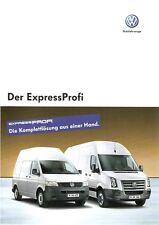 Prospekt / Brochure VW Transporter Crafter ExpressProfi 11/2006