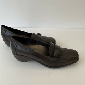 New Women's Fly Flot UK 6 EU 39 Dream Brown Leather Comfort Shoes.