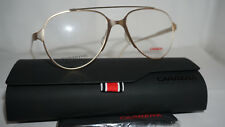95bbc7d1e3af Carrera RX Eyeglasses New Frame Aviator Gold CA6663 GM0 53 17 145