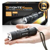 #1 Brightness Light!! - Brightex XR-700 Pro Small Powerful Tactical Flashlight