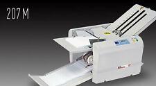 MBM 207M Quick Setup 11x17 Paper Folder Warranty – Uchida 408A Duplo DF-870 970
