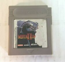 Mortal Kombat 2 II (Nintendo Gameboy, 1994) Authentic Tested Fast SHIPPING