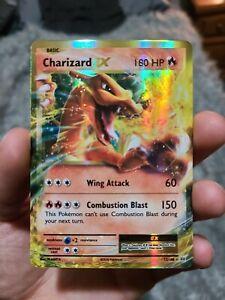 Charizard EX ULTRA RARE 12/108 Pokemon Card TCG XY Evolutions HOLO * MINT *