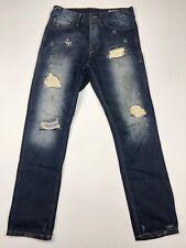 Jack & Jones Men's Stan Grade Destroyed Jeans Medium Slim Fit • 31 x 34