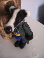 Badger - Ooak artists miniature badger. Mr Badger!