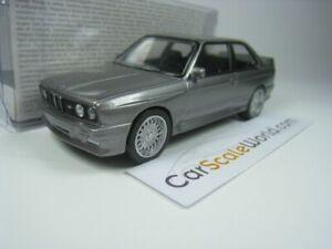 BMW M3 E30 1986 1/43 NOREV JET CAR (SILVER)