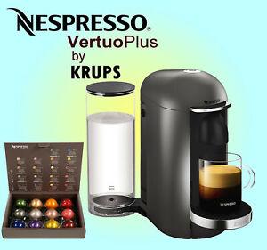 Nespresso Vertuo Plus Coffee Machine by Krups - XN900840 - Piano Black