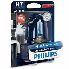 Philips 12972CVUBW H7 CrystalVision Moto Motorbike Headlight Bulb(Single)