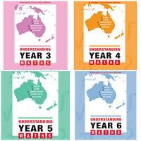 Understanding Maths: Years 3-6: Australian Curriculum Edition ( 4 BOOKS)