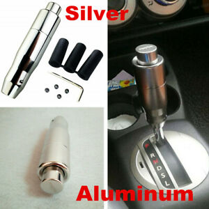 Universal Automatic AT Car Gear Stick Shift Knob Shifter Lever Cover Button Kit