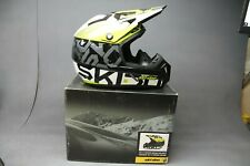 BRP Can-Am XC-4 Helmet Black/Green Size (XL) In Stock Ships Today!