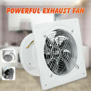 4/6inch High Speed Exhaust Fan Air Cleaning Blower Ventilation Inline Window