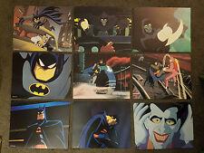 Batman Mask of The Phantasm Animated Movie Moviecards 1993 Set of 9 Mini Posters