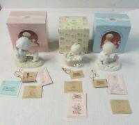 Lot Of Three Precious Moments Figurines 1987 112313,PM-871,PM-872
