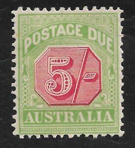 Australia sg D71 mounted mint cat £90 in 2015