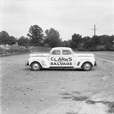 Vintage 1950s Clarks Auto Salvage 2 Way Car California Rustic Photo #1198