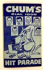 1961 1050 Chum Chart Boost Canadian Talent Count Victors Radio Music Toronto