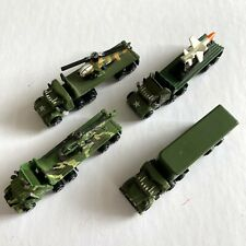 Micro Machines: Military Semi / Truck / Lorry Job Lot - Helicopter, Missile, Box