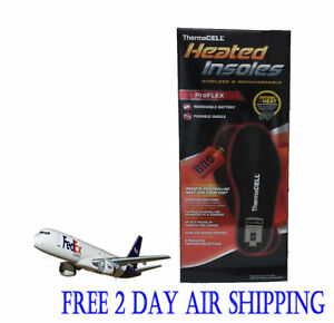Thermacell ProFlex HW20-M Rechargeable Heated Insoles With Remote Medium