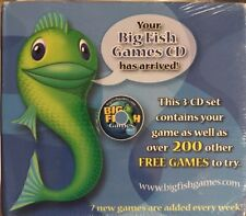 Big Fish Over 200 Free Games  (CD ROM)