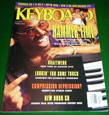 1991 Keyboard Magazine: M.C HAMMER KORG A1 Ensoniq SD-1 SQ-2 YAMAHA QY10 Reports