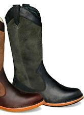 NIB UGG Australia AUSSIE COWBOY BOOTS 5 Charcoal