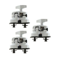 3pcs Drum Set kit Holder Base Mount Bracket for Drummer Percussion Accessory