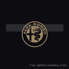 Alfa Romeo logo Sticker Racing F1 Italy 4c Spider stelvio giulia giulietta Pair