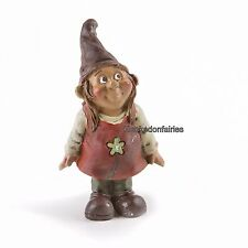 Miniature  Female Gnome Girl DA 161511  Fairy Garden Dollhouse