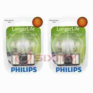 2 pc Philips Tail Light Bulbs for Renault Alliance Encore 1983-1986 tl