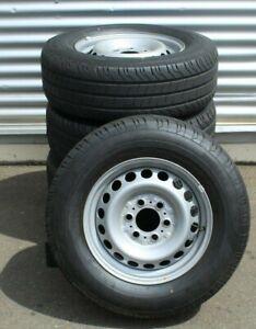 4x  Räder 235 65 R16C 115 / 113R Mercedes Sprinter 907 Conti Van Contact 200 7mm