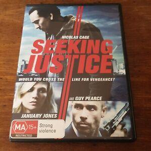 Seeking Justice  DVD R4 Like New! FREE POST