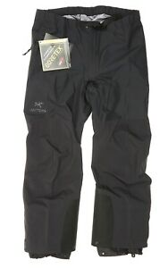 Arcteryx Women's Beta AR Black Pants  Size XL 81416