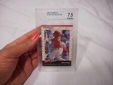 Beckett 2001 Donruss #198 Eric Valent RR Grade 7.5 Near Mint + Card Baseball