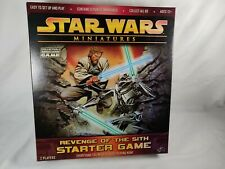 STAR WARS MINIATURES REVENGE OF THE SITH STARTER GAME MAP, TILES, & TOKENS