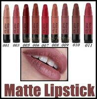 NEW Gosh  Lipstick Kiss Me Matt Lips Satin Colour Long Lasting Hydrating Shades