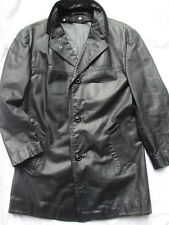 MANTEAU CUIR VESTE T.M-L, LEDERJACKE LEATHER JACKET CAR COAT LEDERMANTEL