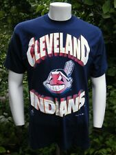 Official Fan MLB CLEVELAND INDIANS 1994 T-Shirt SIZE Lg USA Made EXC+++