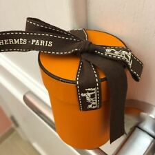 Authentic Hermes Hermes Twilly Scarf Empty Box 7.5 x 5.5 x 5.5cm Tube.