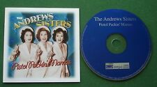 The Andrews Sisters Pistol Packin' Mamas inc Beer Barrel Polka + CD