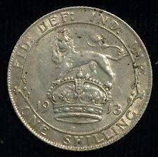More details for shilling 1913 george v vf lustre (t112)
