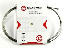 NEW Clarks Universal Stainless Steel Bike Brake Inner Cable 2000 x 1.5mm