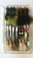 28 Brand New Fly Fishing Flies, Buggers, hoppers and more In watertight box