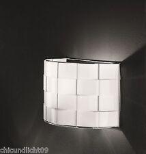 Fabas Luce Retrofit Diseño Lámpara Pared Mate 1flg. 3136-21-102 blanco / cromado